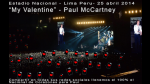 Un Estadio Nacional lleno de corazones para McCartney - Noticias de beatle paul mccartney